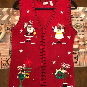 Urban Outfitters Christmas sweater vest
